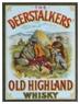 Deerstalker Whisky label